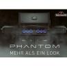 Napoleon Phantom™ Prestige® P500er, Mattschwarz