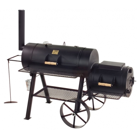 "JOE`s BBQ Smoker Special 16"" Longhorn lange Version"
