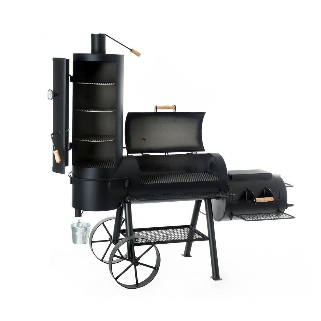 joe s bbq smoker chuckwagon 16 griller shop graz. Black Bedroom Furniture Sets. Home Design Ideas