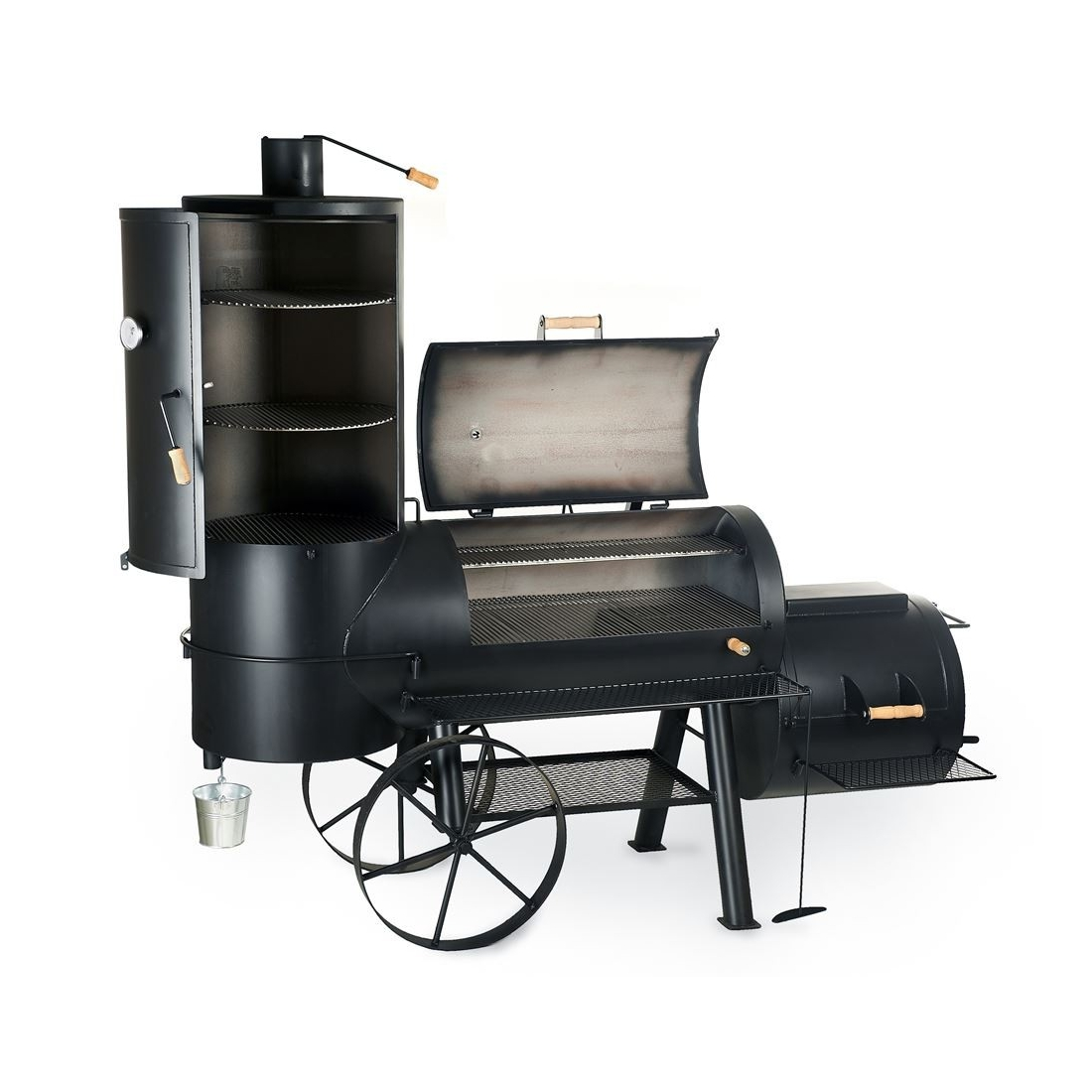 joe s bbq smoker chuckwagon 24 catering griller shop graz. Black Bedroom Furniture Sets. Home Design Ideas