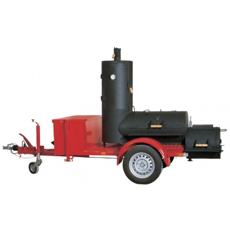 "JOE`s BBQ Smoker Chuckwagon® 20"" Catering Trailer"