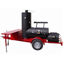 "JOE`s BBQ Smoker Chuckwagon® 24"" Catering Trailer"