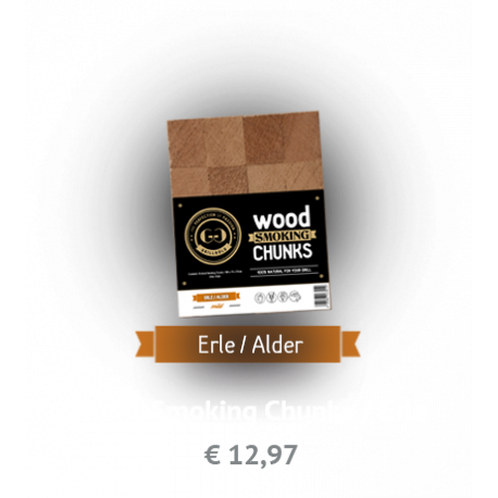 GRILLGOLD Wood Smoking Chunks Erle