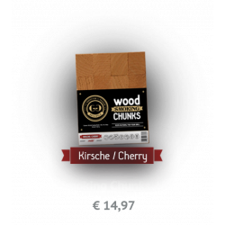 GRILLGOLD Wood Smoking Chunks Kirsche