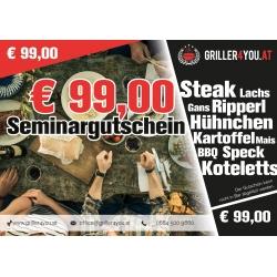 99€ Seminargutschein