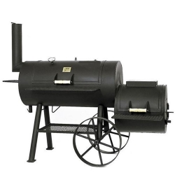 "JOE`s BBQ Smoker Texas Classic 20"" lange Version mit Kochplatte"