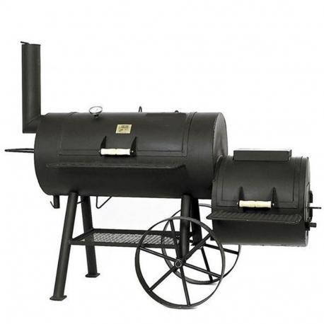 "JOE`s BBQ Smoker Texas Classic 20"" lange Version mit Kochplatte"