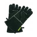 Outdoorchef Lederhandschuhe schwarz