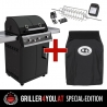 Outdoorchef DUALCHEF 325 G / D - Line Griller4you Special-Edition