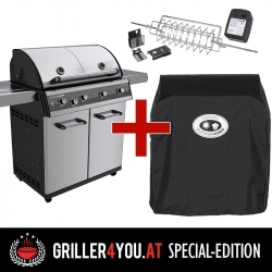 Outdoorchef DUALCHEF S 425 G / D - Line Griller4you Special-Edition