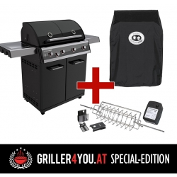 Outdoorchef DUALCHEF 425 G / D - Line Griller4you Special-Edition