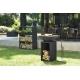 OFYR Wood Storage Cabinet Black mit 2 WS Inserts