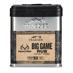 Traeger Real Tree Big Gam Rub
