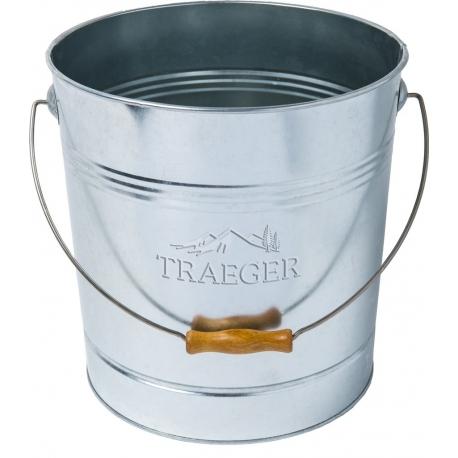 Traeger Pellet Aufbewahrungseimer aus Metall