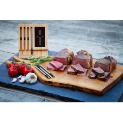 MEATER® Block mit 4 Thermometer kabellos