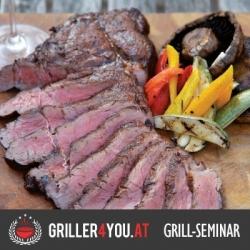 """""""Steak - Masterclass"""" 17. Juli 2020, Grillseminar"""