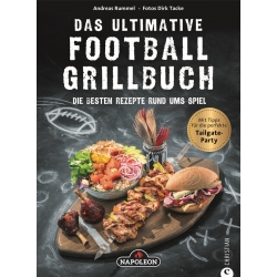 "Grillbuch ""Das ultimative Football Grillbuch"""