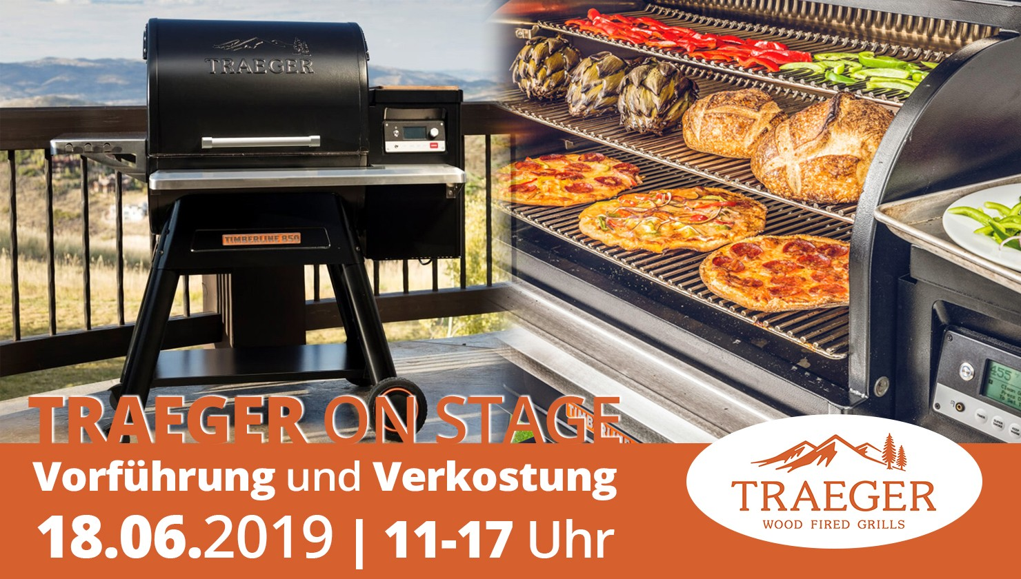 Traeger on Stage